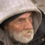 When a paranoid homeless man approached David, he could have recoiled or ignored him. Instead, he said something that made the man cry with joy.