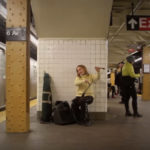 A short and sweet story about how one person on the NYC subway made two complete strangers happy.